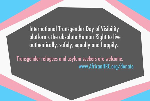 International Transgender Day of Visibility