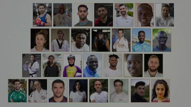 AHRC Celebrates Olympic Refugee Team