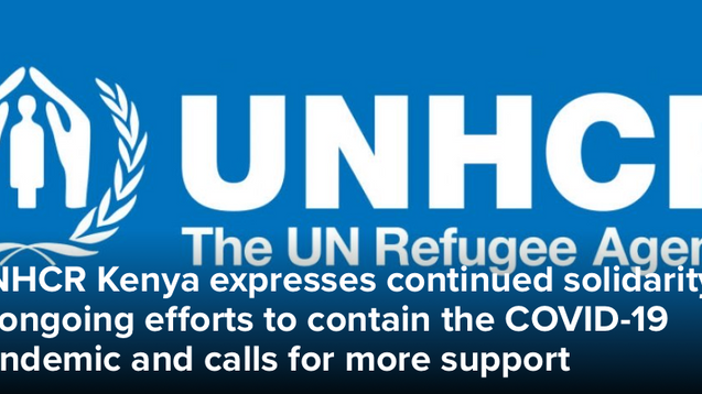 UNHCR and African HRC Call for Support for COVID-19 Compliance
