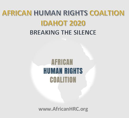 IDAHOT 2020 BREAK THE SILENCE