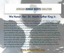 Rev. Dr. Martin Luther King Jr. Day 2021