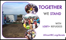 African HRC HOLIDAY Gifting Certificates to Support LGBTQI Refugees and Asylum Seekers