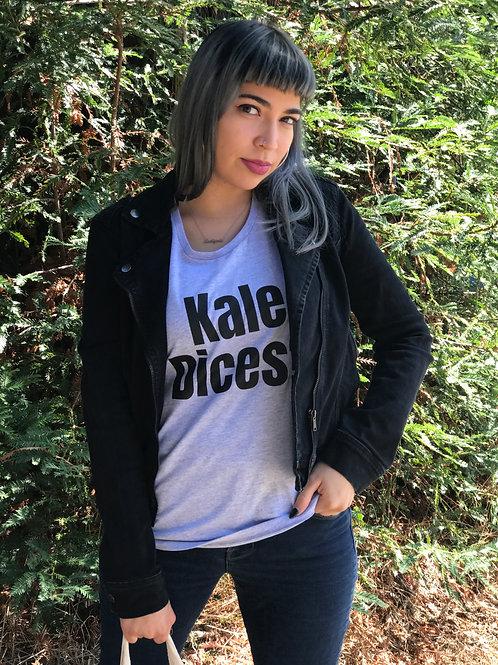 Kale Dices? Crew Neck T-Shirt