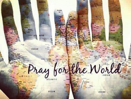A prayer for our world