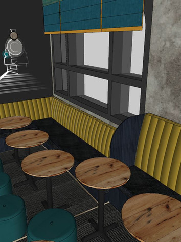 Fixed seating specification, main area 1