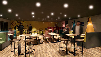 Bar & Restaurant 3D Renders