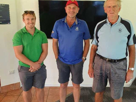 Heine takes out Monthly Medal