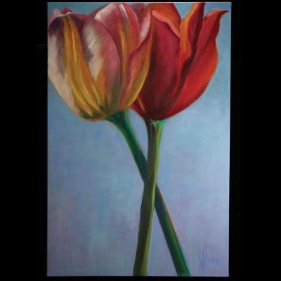 """Janie Pinney - """"The Tulips"""""""