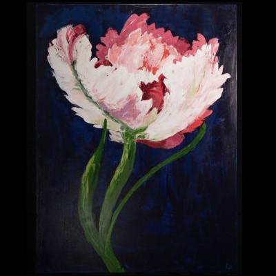 """Laura Partee - """"Mr. Parrot Tulip"""""""