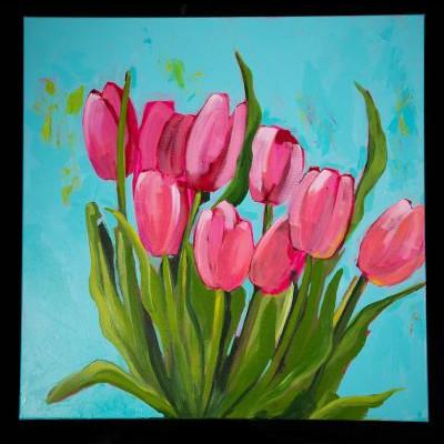"""Kate Ackerly - """"Spring Pink"""""""