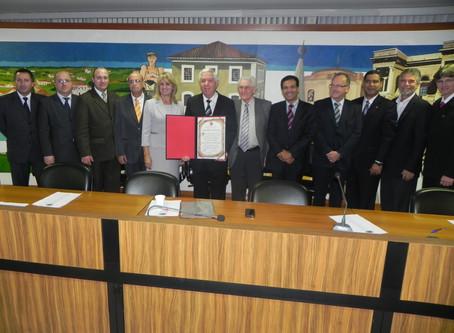 Lembranças - Pastor presidente recebe Título de Cidadão Honorário de Curitiba