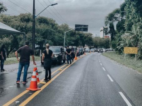 Municípios do litoral do Paraná instalam barreiras sanitárias no feriado de Corpus Christi