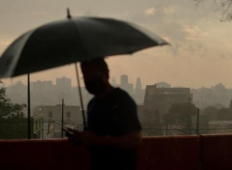 Chuva intensa aumenta nível dos reservatórios que abastecem Curitiba e região