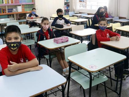 Curitiba abre cadastro para vagas em escolas municipais para ano letivo de 2022