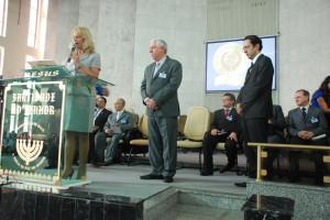 Lembranças - Escola Bíblica recebe homenagem