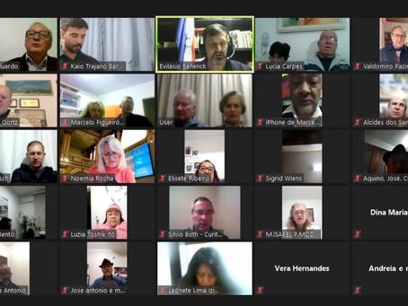 Vereadora participa de reunião virtual da ADHONEP