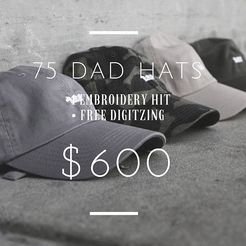 75 Dad Hat Package