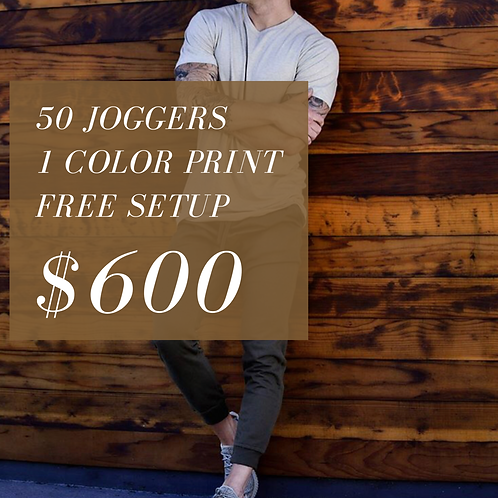 50 Joggers Package