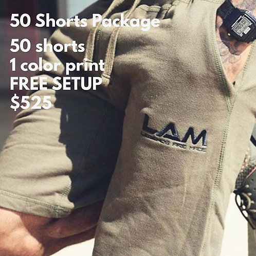 50 Shorts Package
