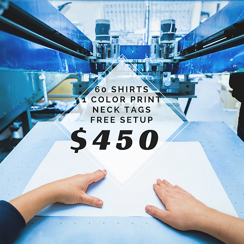 60 T-shirt Package