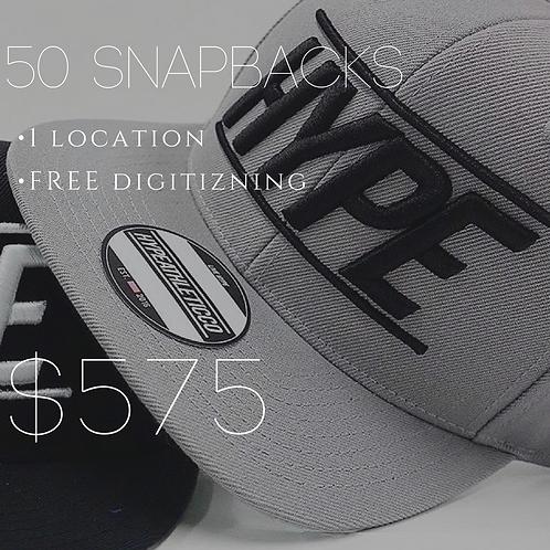 50 SnapBack Package
