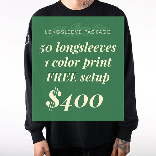 Long sleeve Package
