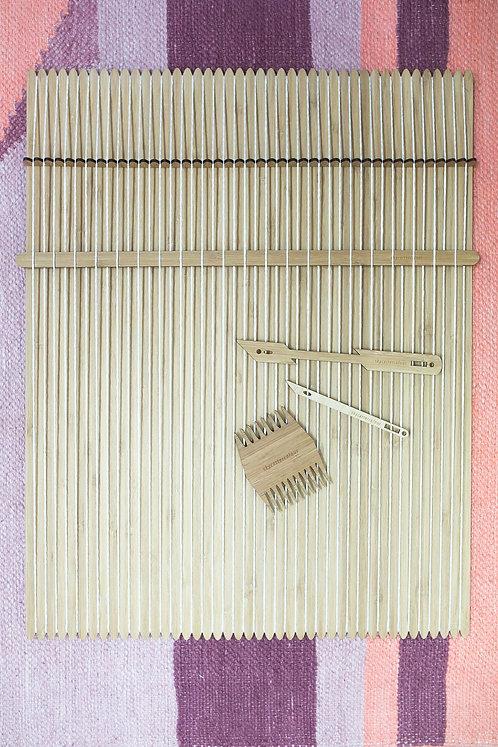 Large Set - Loom & Weaving Tools