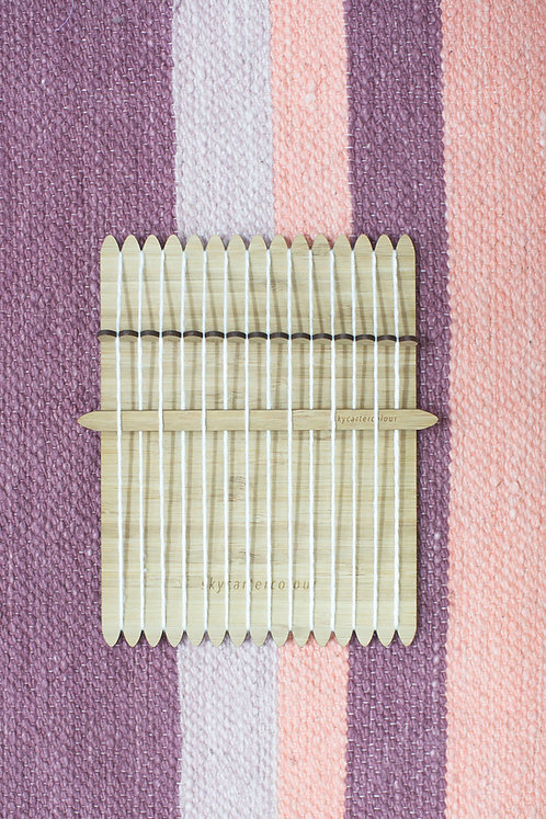 Small Loom with Heddle & Shed Stick