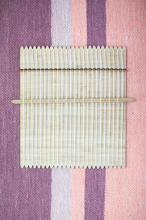 Medium Loom with Tension Heddle & Shed Stick