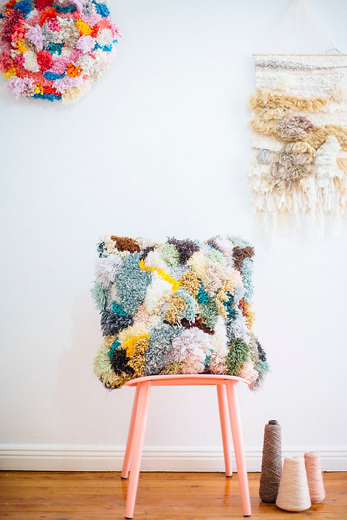 Commission an Uber Textural Cushion