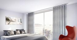 Interstil - Design-Vorhangschiene