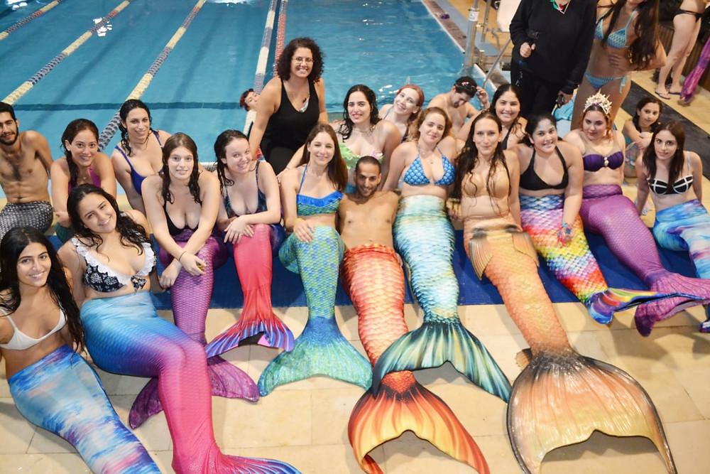 Israel's mermaid community