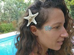 כוכב ים בשיער