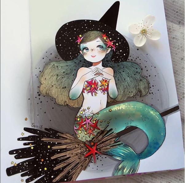 _semcool_ בת ים מכשפה