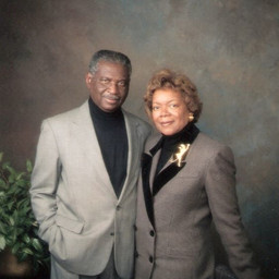Grandaddy Edsel and Grandmommy Pearlie