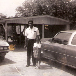 My mother and grandaddy.