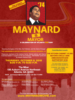 Maynard Movie Invite