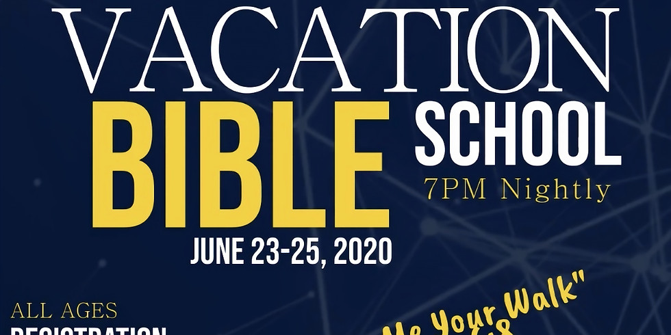 "Virtual Vacation Bible School--""Show Me Your Walk"""