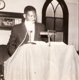 Grandaddy as a young minister.
