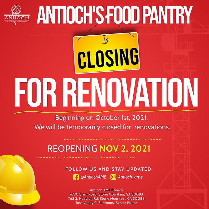 Closed for Reno