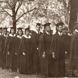 Grandaddy's graduation from college.