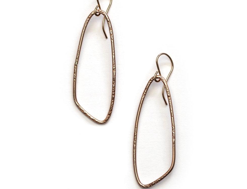 Medium Wing Hoop Earrings