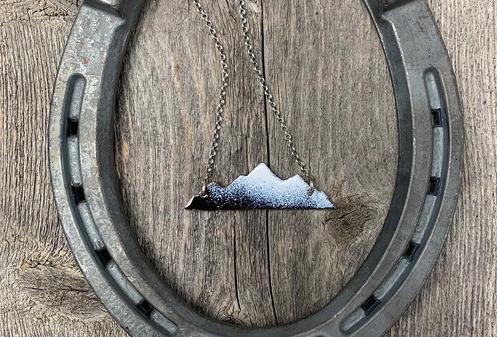 Serene Mountain Necklace #7