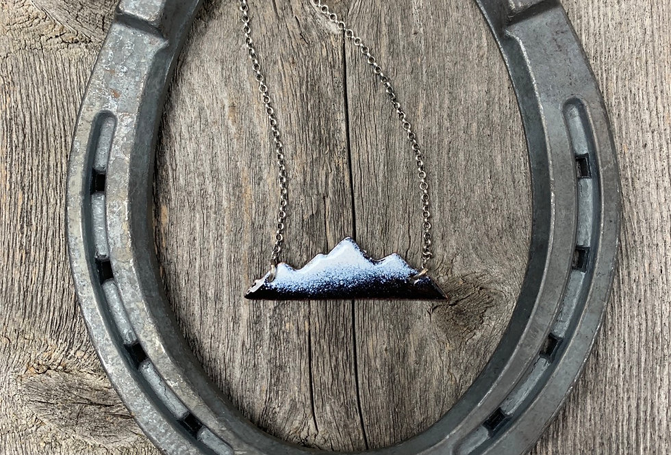 Serene Mountain Necklace #10