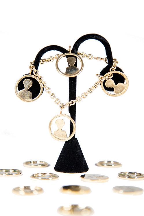 MC Mannequin Charm Bracelet
