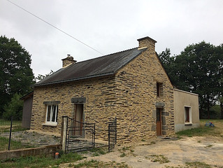Fin de la restauration de la maison de métayer