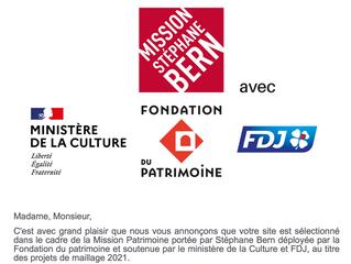 La Cour de Launay sélectionnée par la Mission Stéphane Bern