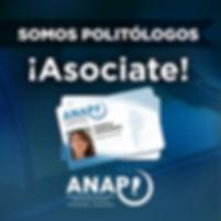 ANAP, asociate, politólogos, Asociación Nacional de Politólogos