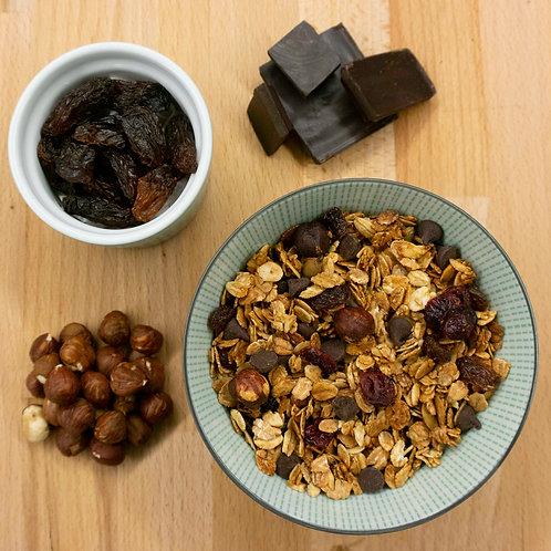 Chocolate and hazelnut CBD granola (100g)
