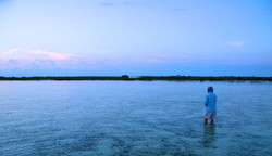 Flats fishing, Middle Caicos